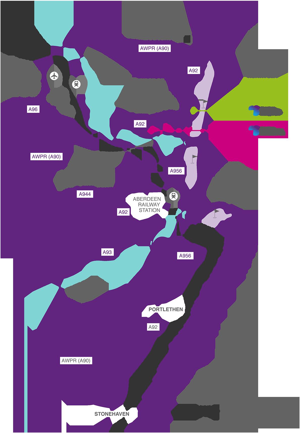 AEIP area map